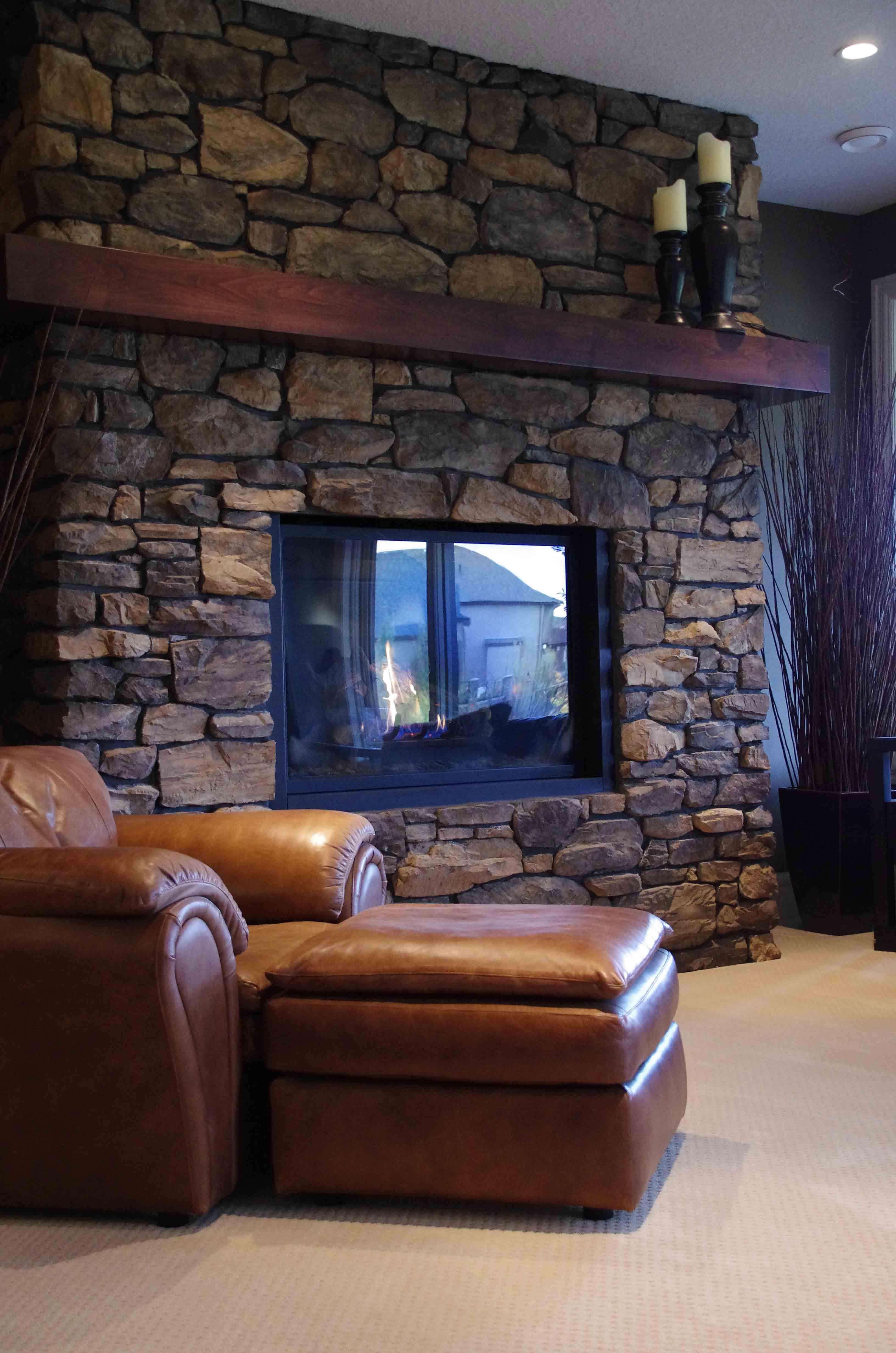 Fireplace - Basement Development