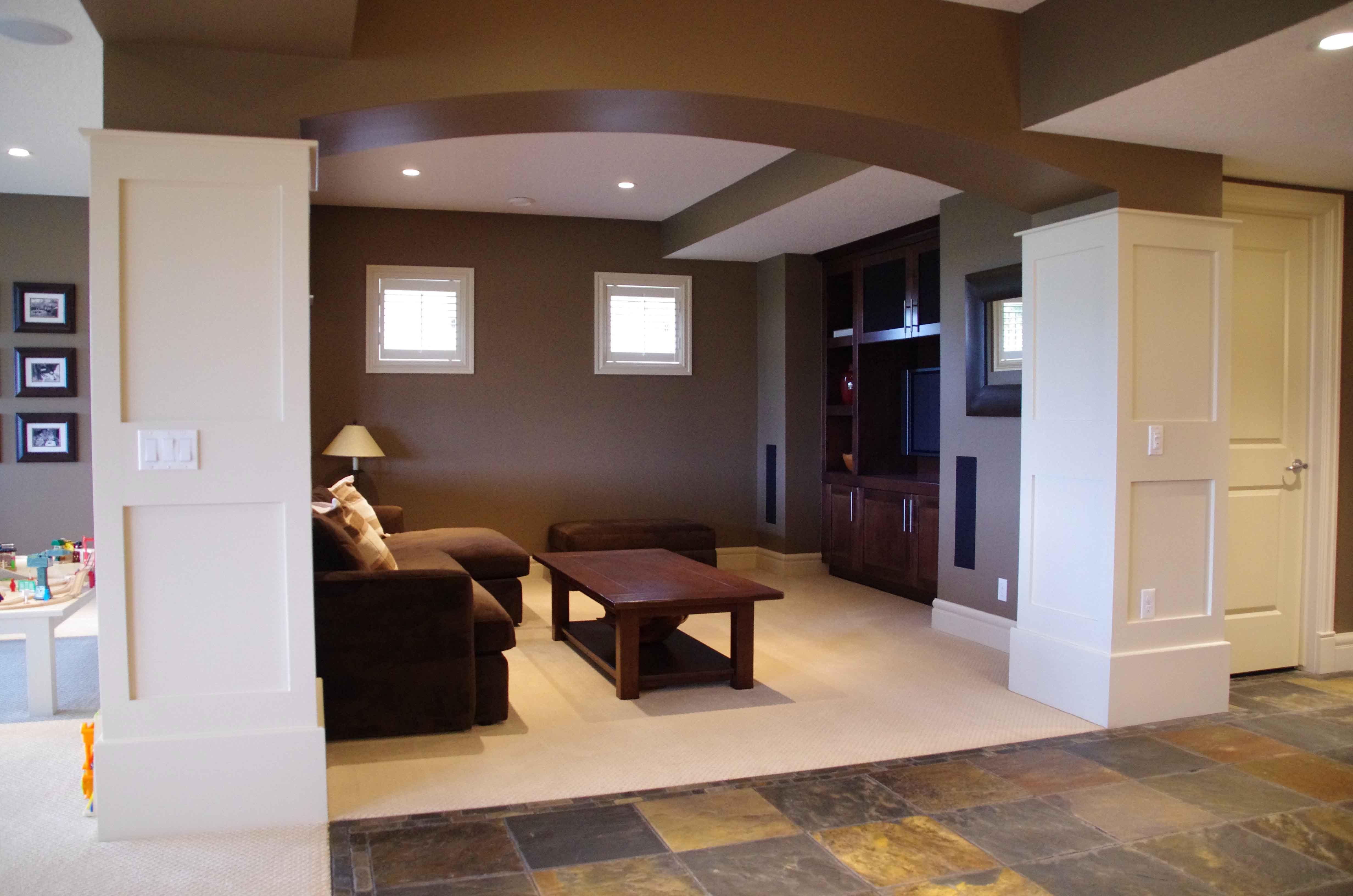 TV Room - Basement Development