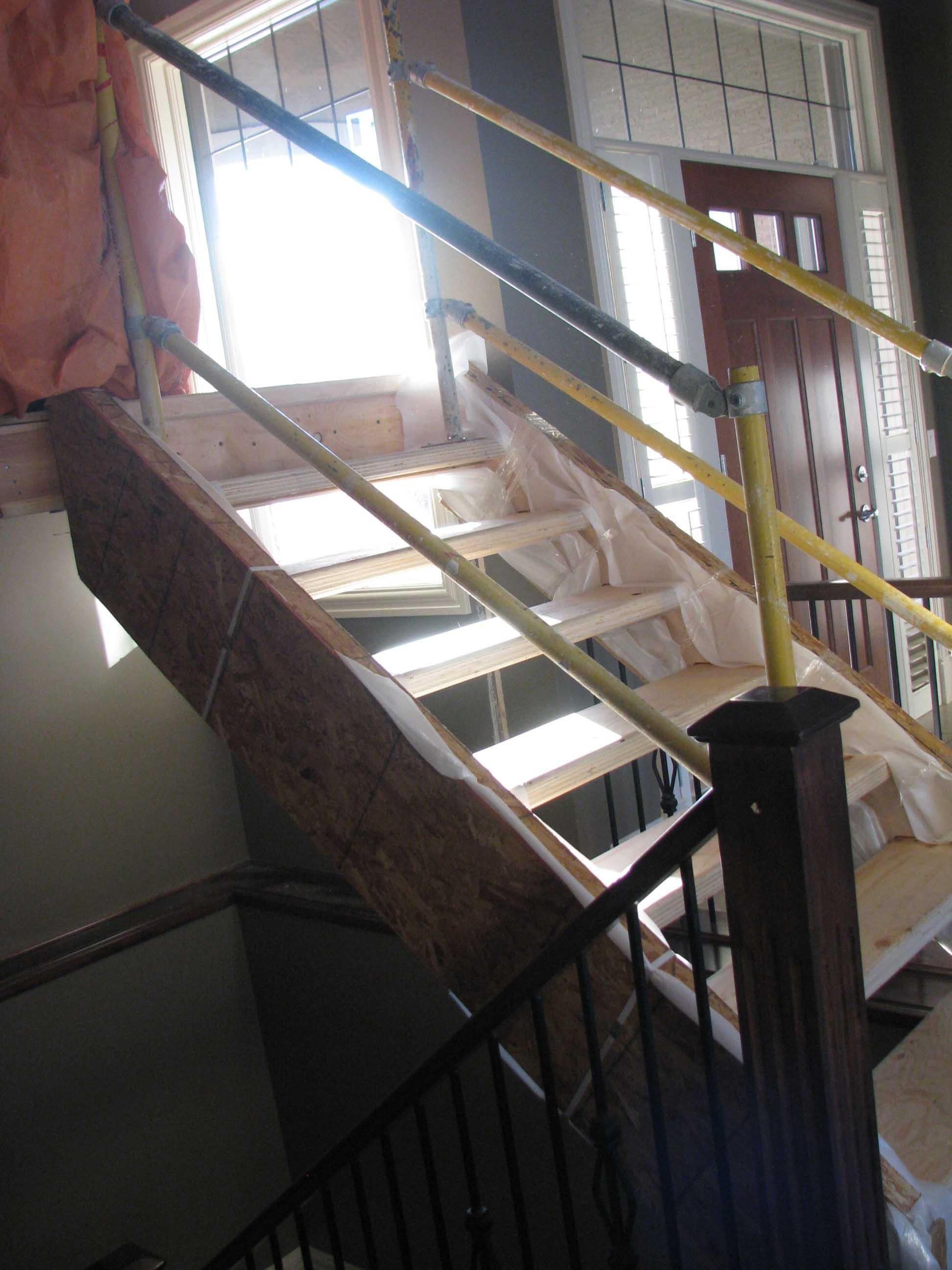 Under Construction - Stairway Development