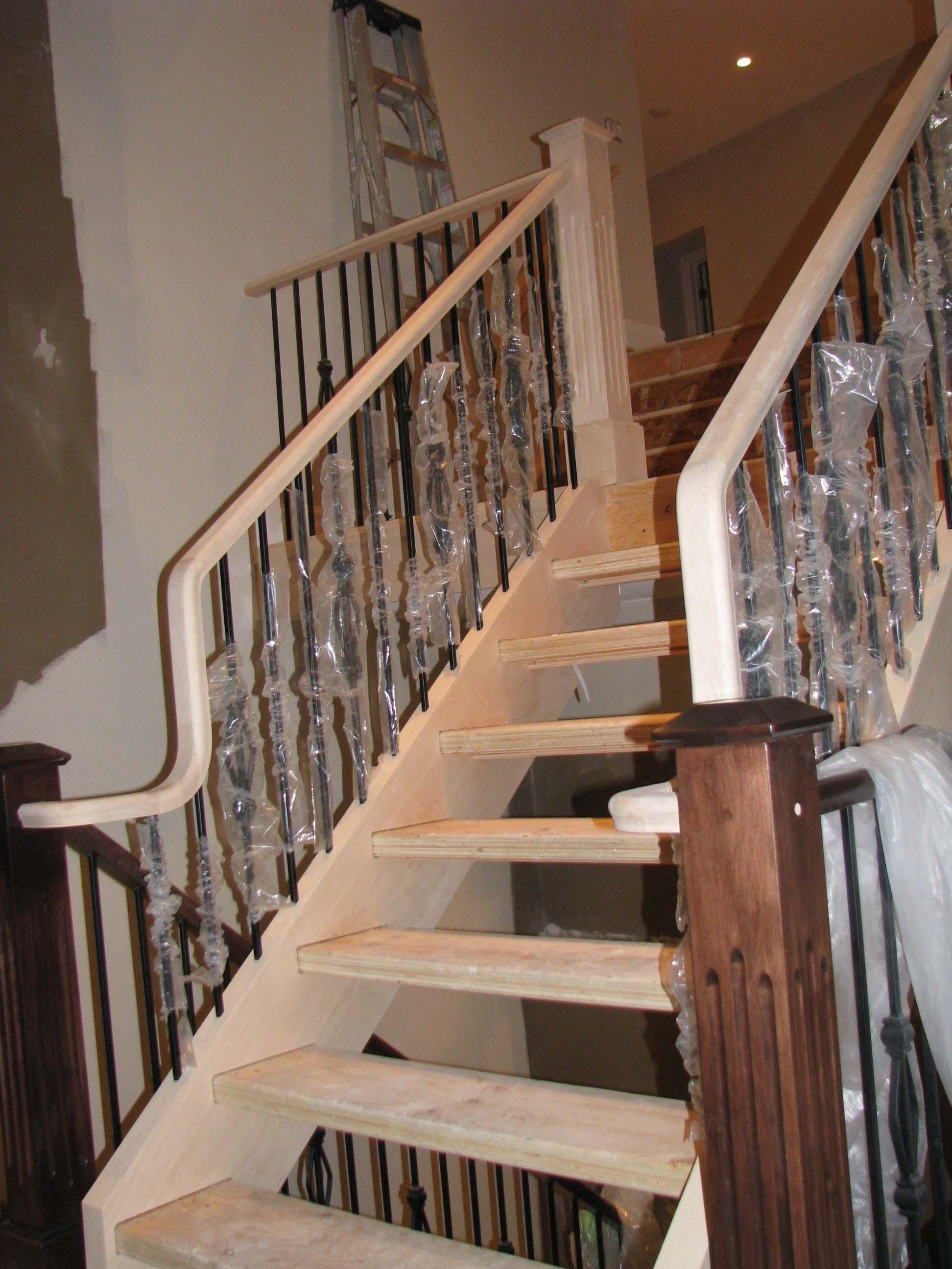Stairway Under Construction - Stairway Development