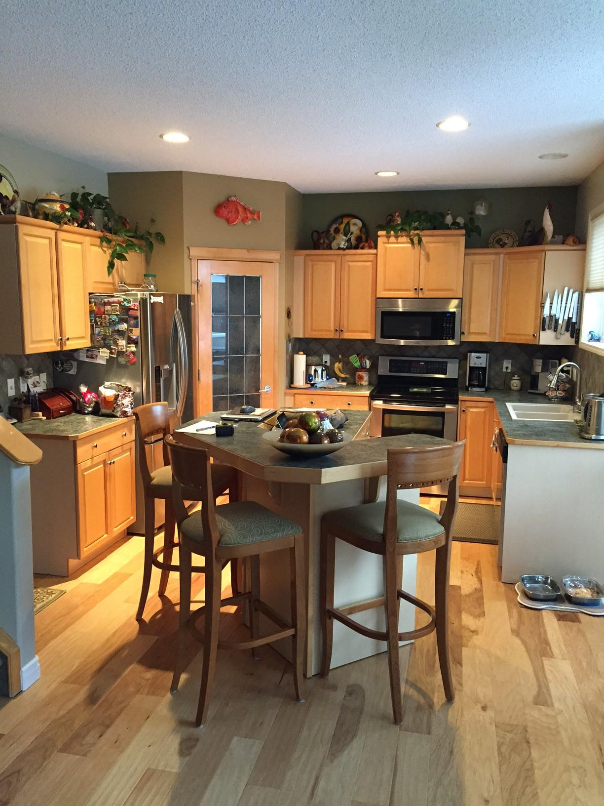 Before - Cranston Kitchen Renovation